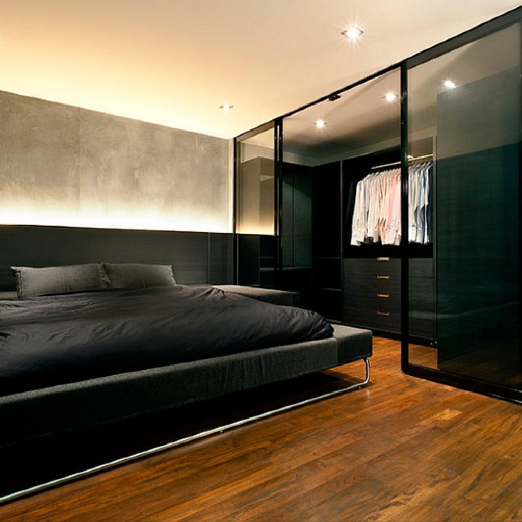 Дизайн темной комнаты 12 кв.м